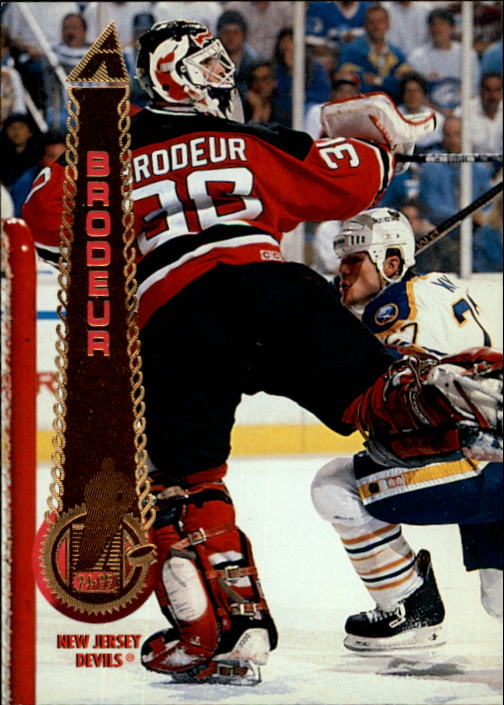 1994-95 Pinnacle #145 Martin Brodeur