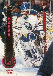 1994-95 Pinnacle #175 Dominik Hasek