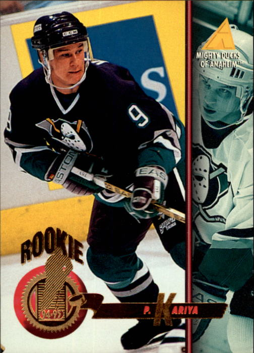 1994-95 Pinnacle #265 Paul Kariya