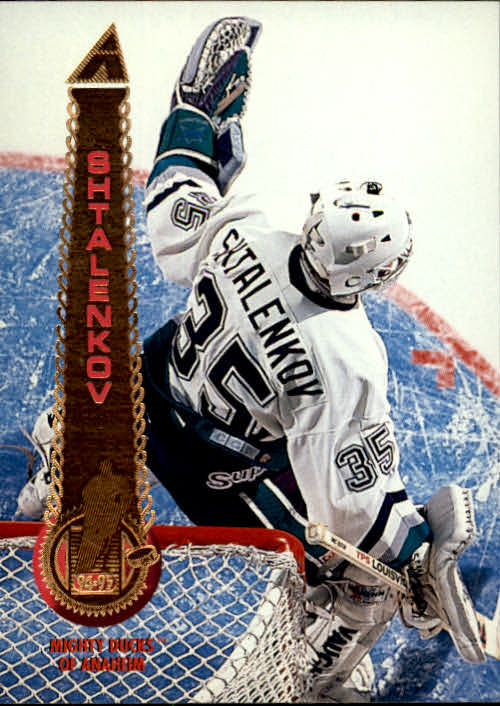 1994-95 Pinnacle #331 Mikhail Shtalenkov RC