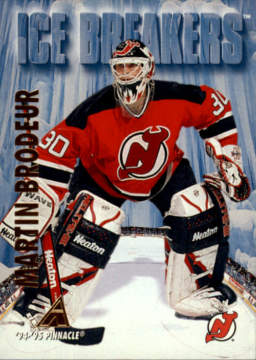 1994-95 Pinnacle #462 Martin Brodeur IB