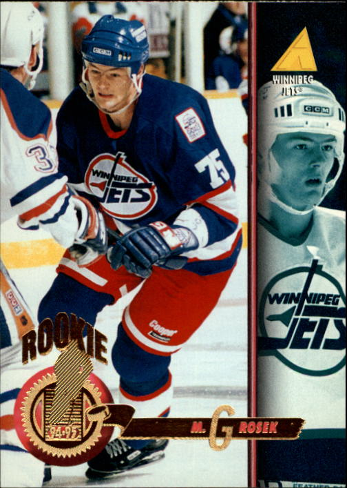 1994-95 Pinnacle #482 Michal Grosek RC