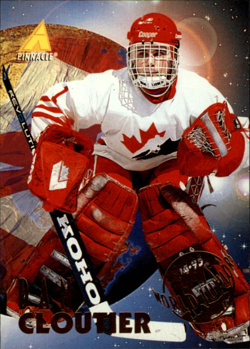 1994-95 Pinnacle #522 Dan Cloutier RC