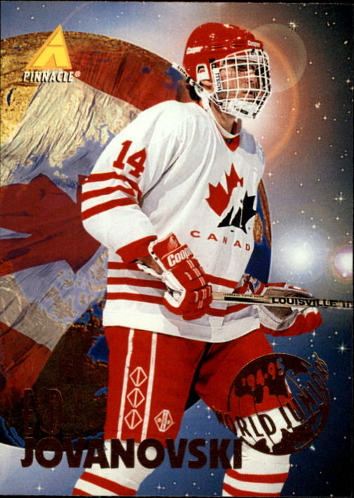 1994-95 Pinnacle #524 Ed Jovanovski RC