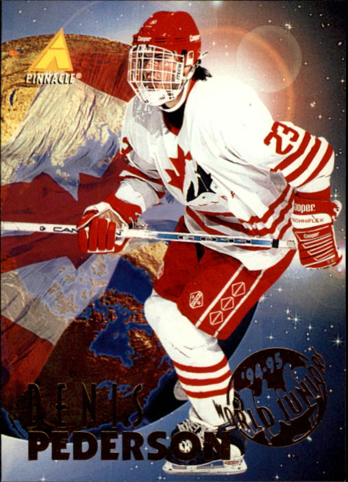 1994-95 Pinnacle #538 Denis Pederson RC