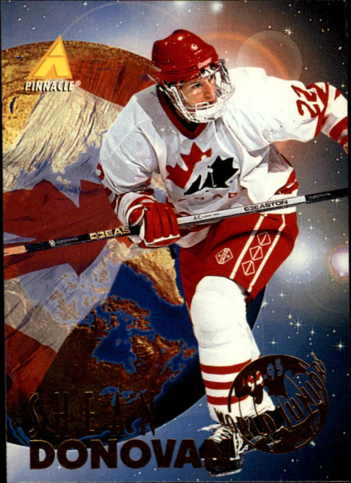 1994-95 Pinnacle #539 Shean Donovan RC