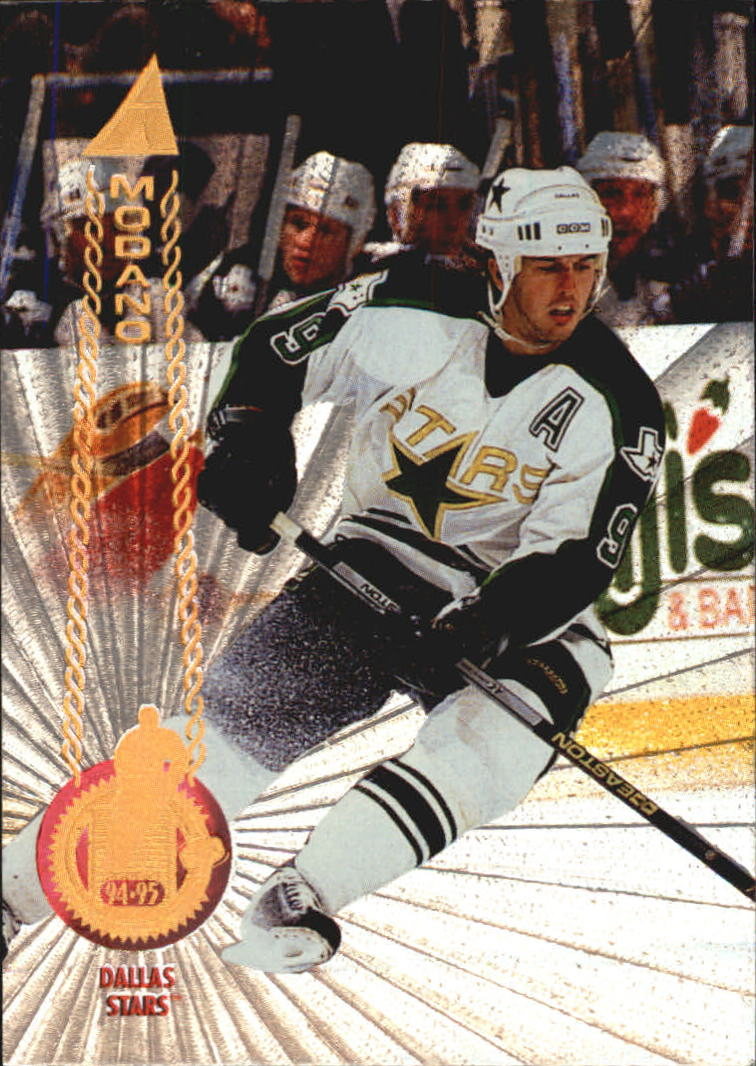 1994-95 Pinnacle Rink Collection #3 Mike Modano
