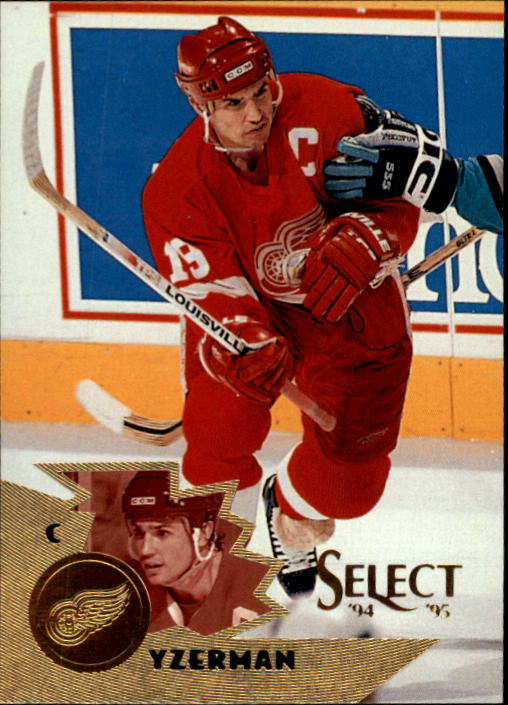 1994-95 Select #35 Steve Yzerman