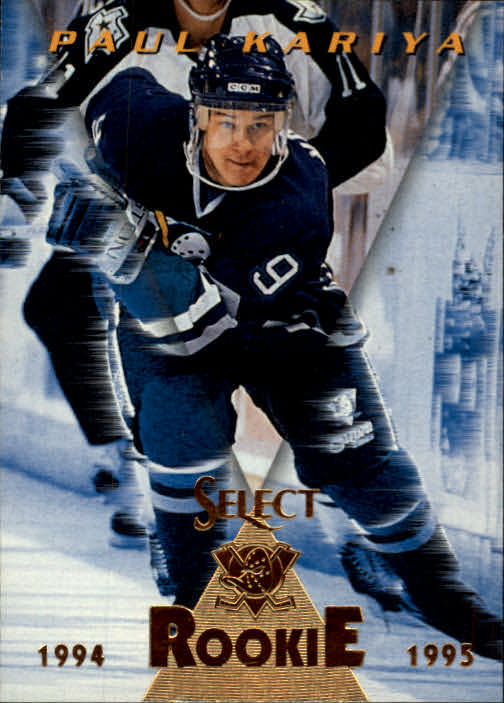 1994-95 Select #173 Paul Kariya