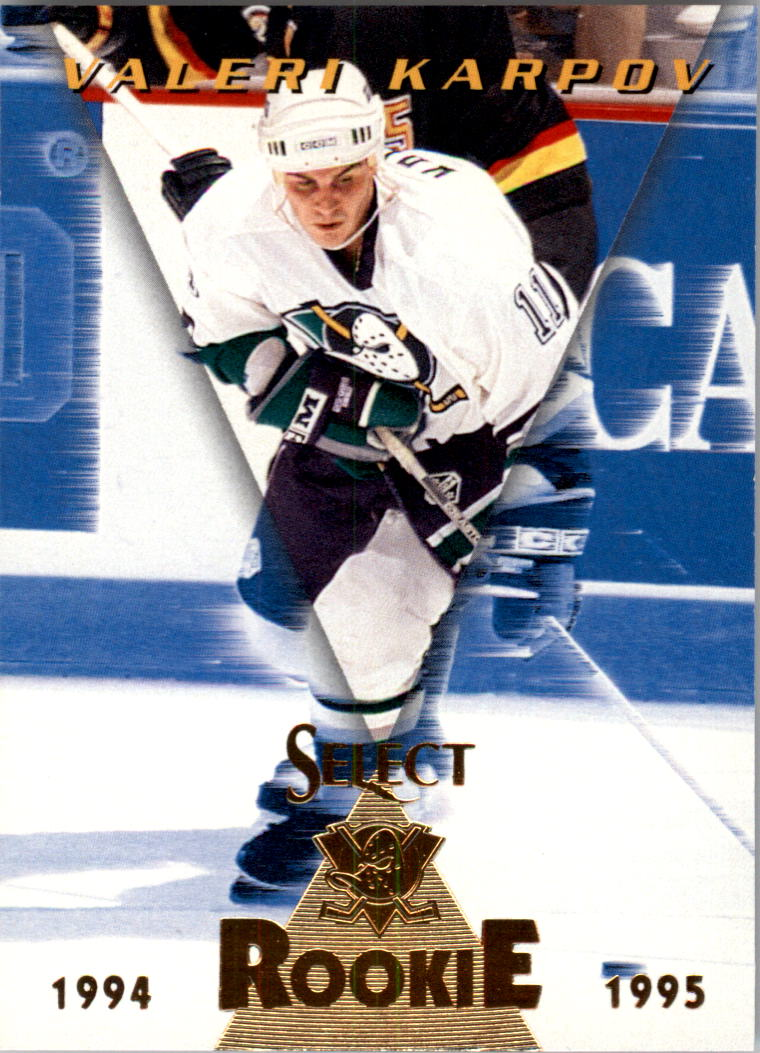1994-95 Select #183 Valeri Karpov RC