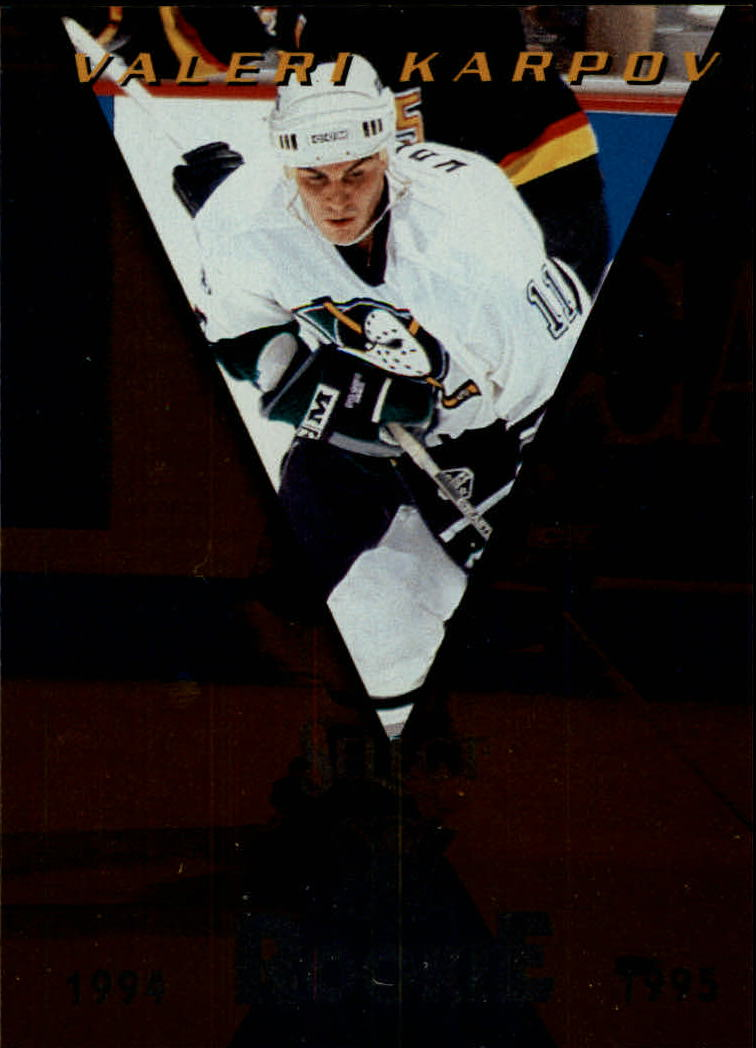 1994-95 Select Gold #183 Valeri Karpov