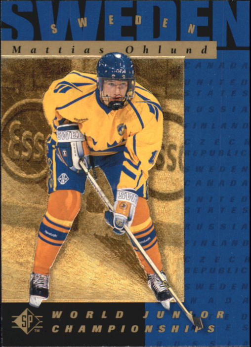 1994-95 SP #172 Mattias Ohlund RC