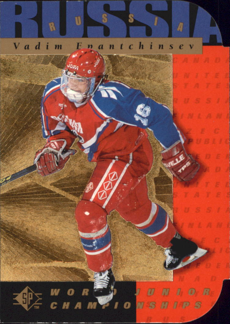 1994-95 SP Die Cuts #164 Vadim Epantchinsev