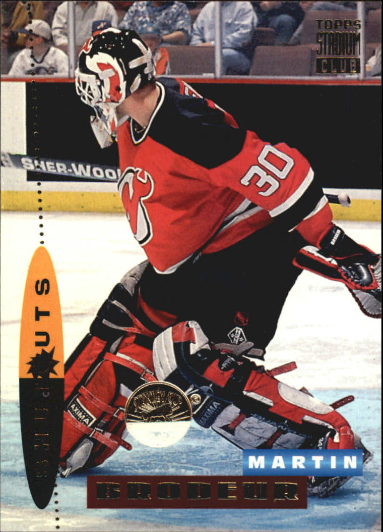 1994-95 Stadium Club #186 Martin Brodeur SO