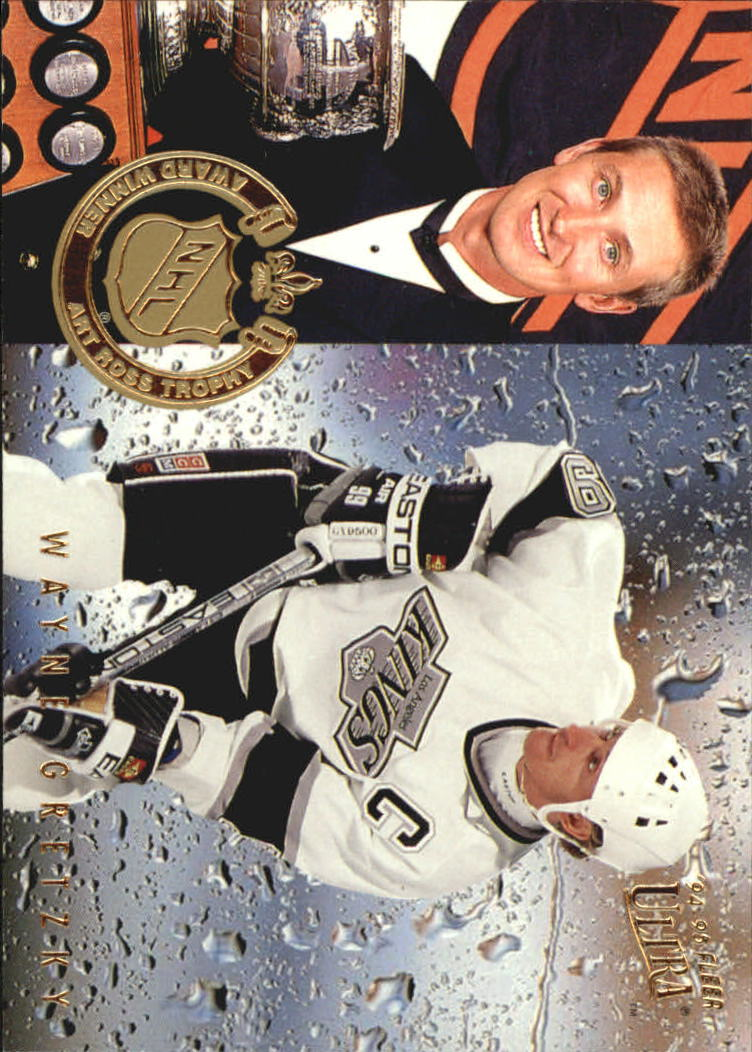 1994-95 Ultra Award Winners #5 Wayne Gretzky