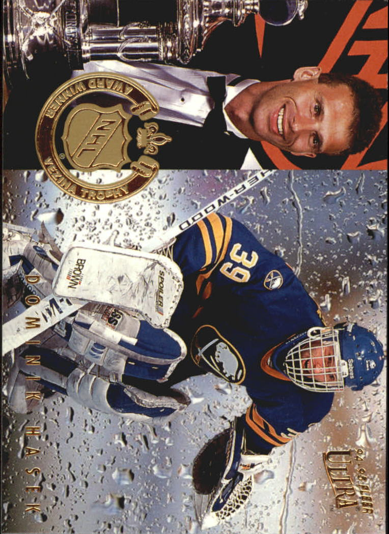 1994-95 Ultra Award Winners #6 Dominik Hasek