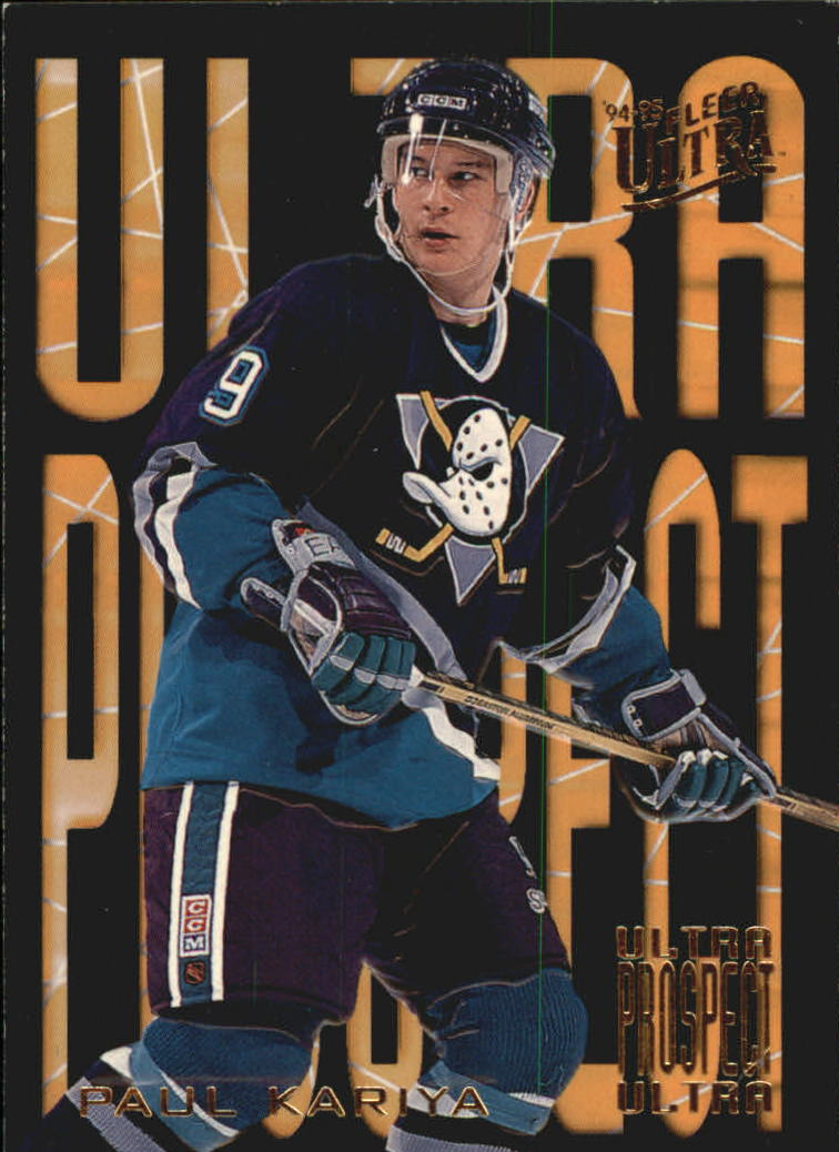 1994-95 Ultra Prospects #3 Paul Kariya