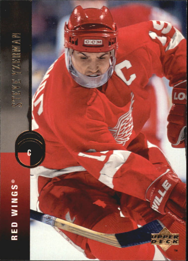 1994-95 Upper Deck #300 Steve Yzerman