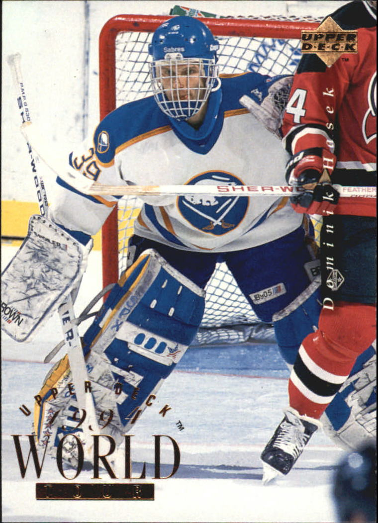 1994-95 Upper Deck #545 Dominik Hasek WT