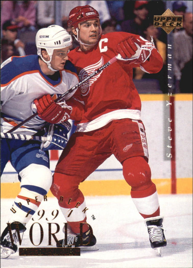 1994-95 Upper Deck #550 Steve Yzerman WT