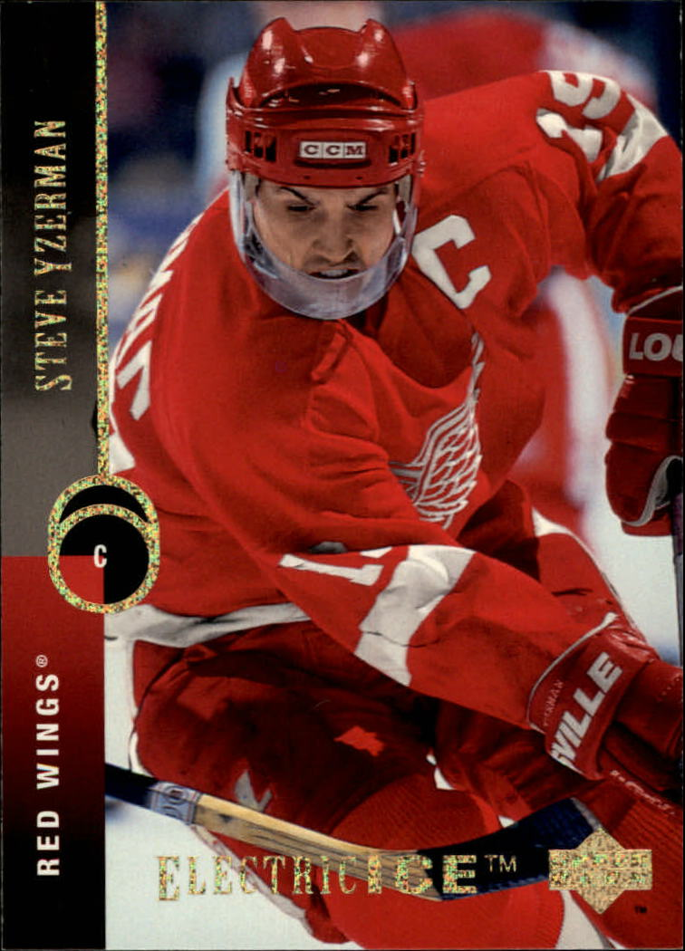 1994-95 Upper Deck Electric Ice #300 Steve Yzerman