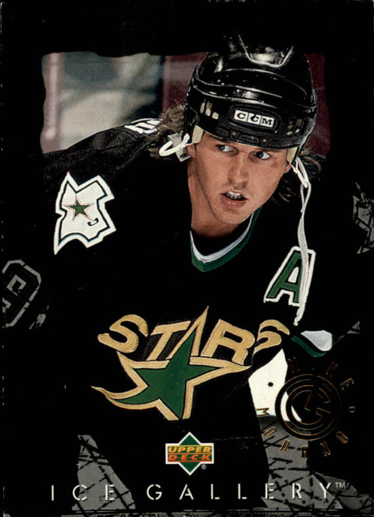 1994-95 Upper Deck Ice Gallery #IG8 Mike Modano