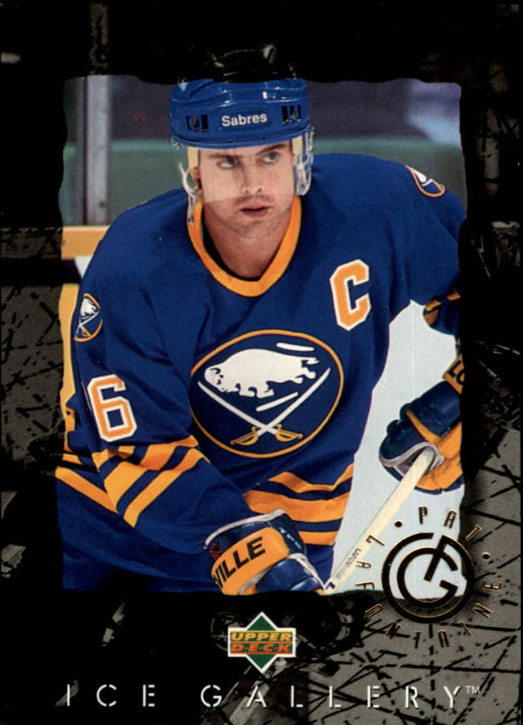 1994-95 Upper Deck Ice Gallery #IG14 Pat LaFontaine