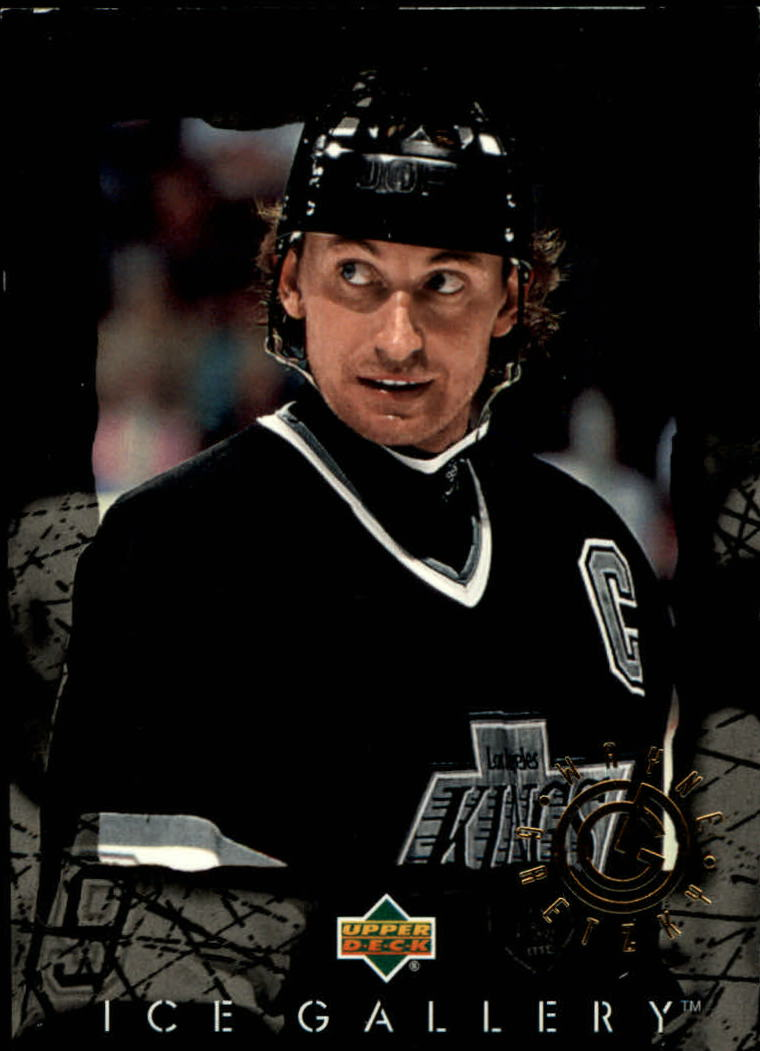 1994-95 Upper Deck Ice Gallery #IG15 Wayne Gretzky