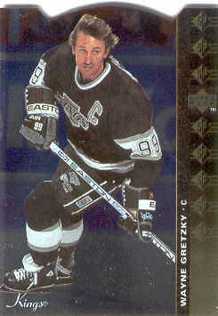 1994-95 Upper Deck SP Inserts Die Cuts #SP36 Wayne Gretzky