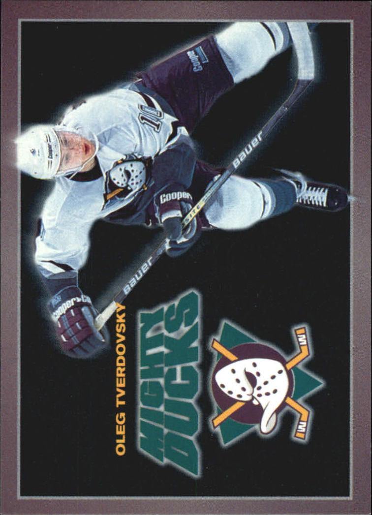 1994-95 Ducks Carl's Jr. #24 Oleg Tverdovsky