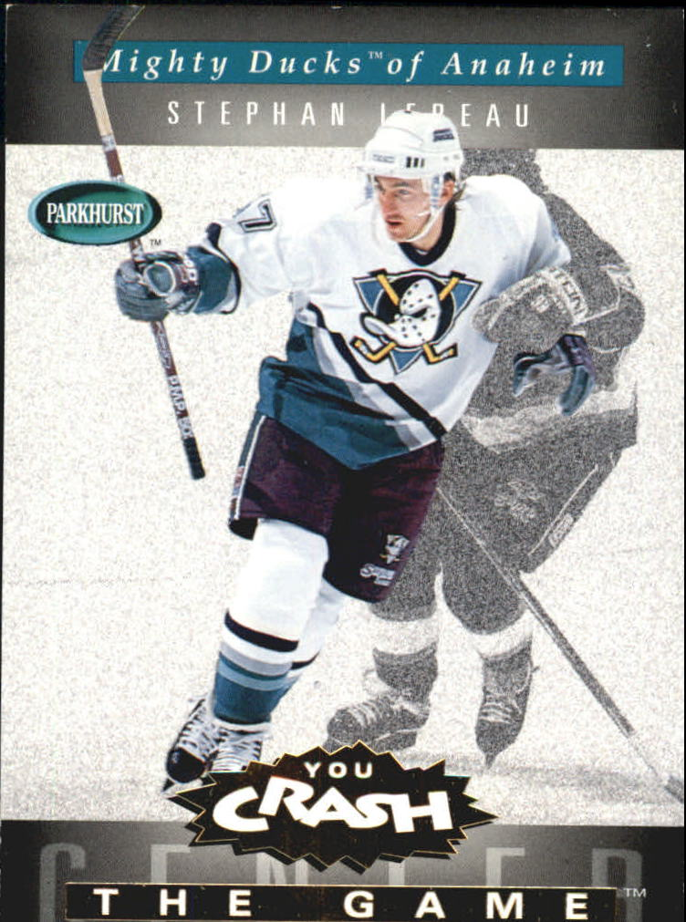 1994-95 Parkhurst Crash the Game Gold #1 Stephan Lebeau