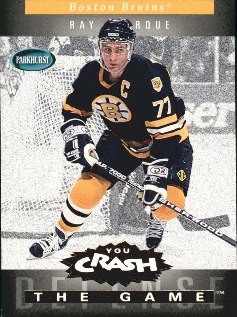 1994-95 Parkhurst Crash the Game Gold #2 Ray Bourque