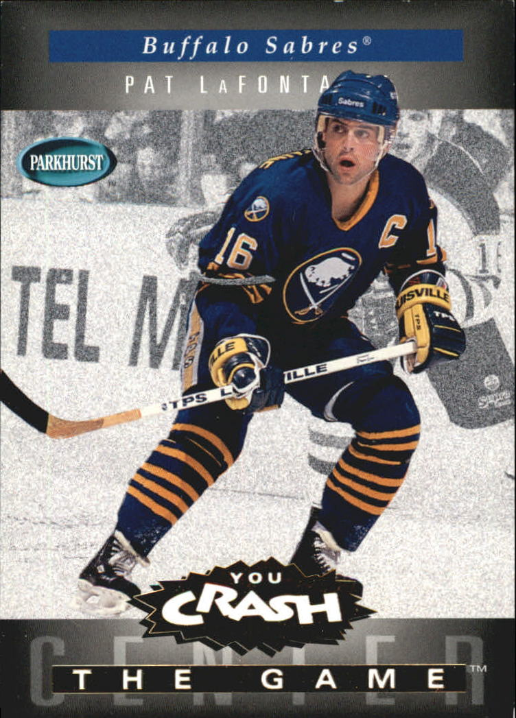 1994-95 Parkhurst Crash the Game Gold #3 Pat LaFontaine