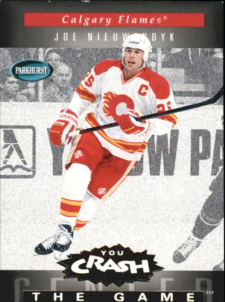 1994-95 Parkhurst Crash the Game Gold #4 Joe Nieuwendyk