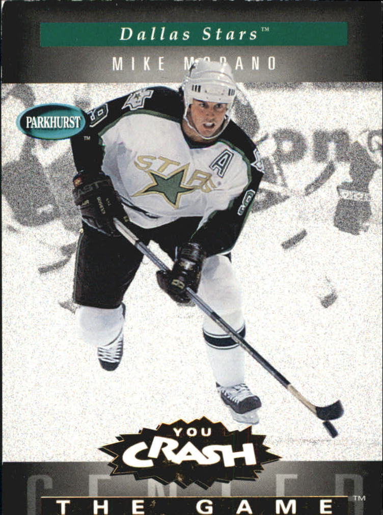 1994-95 Parkhurst Crash the Game Gold #6 Mike Modano