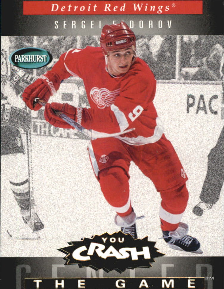 1994-95 Parkhurst Crash the Game Gold #7 Sergei Fedorov