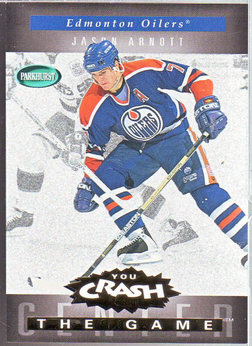 1994-95 Parkhurst Crash the Game Gold #8 Jason Arnott