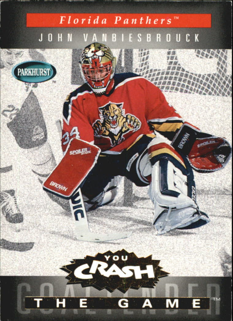 1994-95 Parkhurst Crash the Game Gold #9 John Vanbiesbrouck