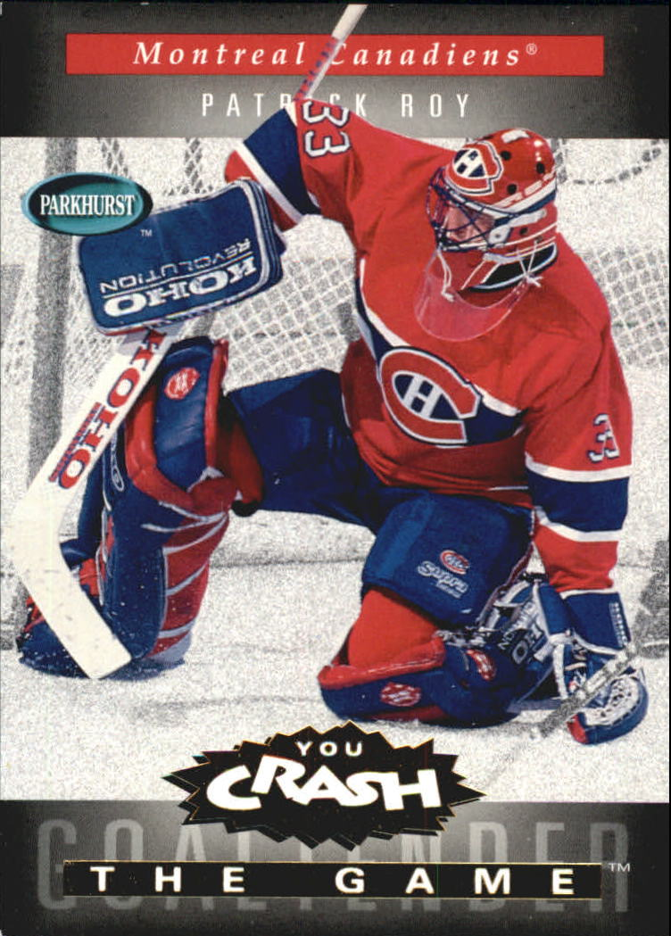 1994-95 Parkhurst Crash the Game Gold #12 Patrick Roy