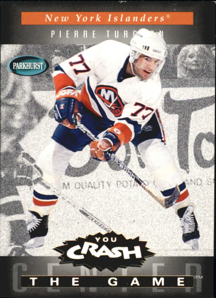 1994-95 Parkhurst Crash the Game Gold #14 Pierre Turgeon