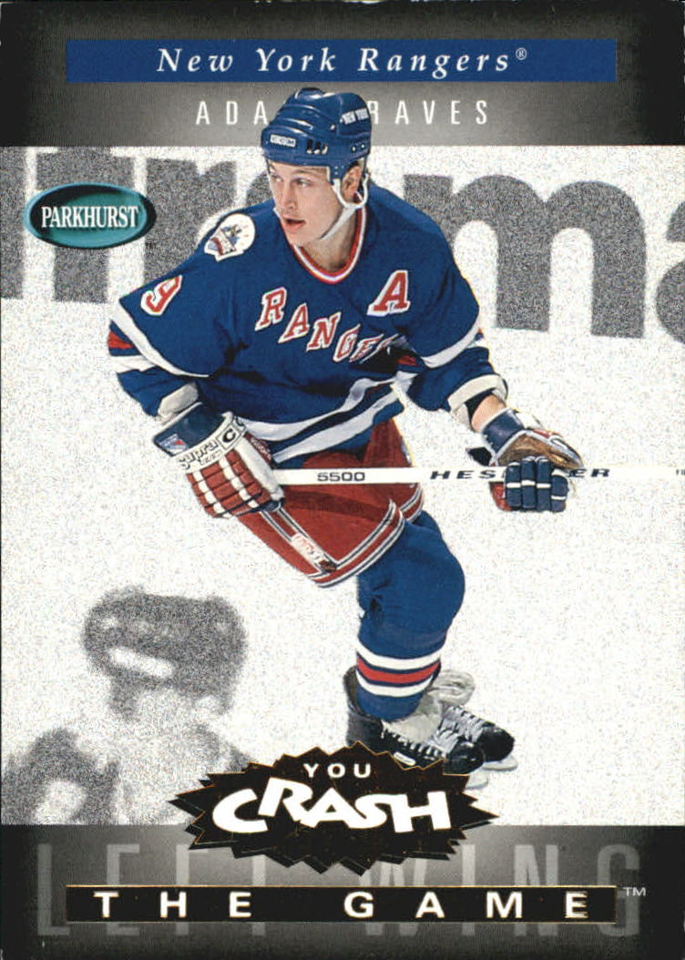 1994-95 Parkhurst Crash the Game Gold #15 Adam Graves