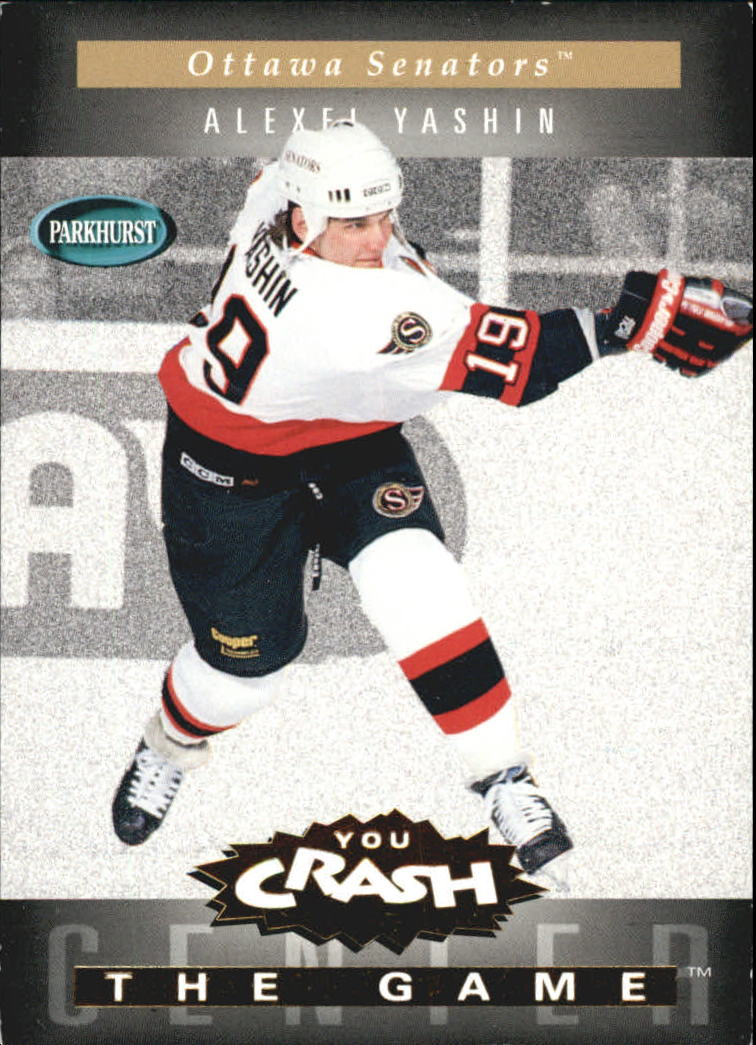 1994-95 Parkhurst Crash the Game Gold #16 Alexei Yashin