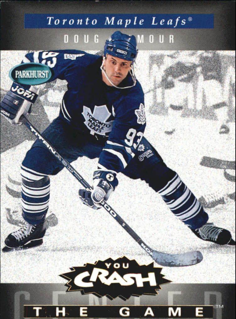 1994-95 Parkhurst Crash the Game Gold #23 Doug Gilmour