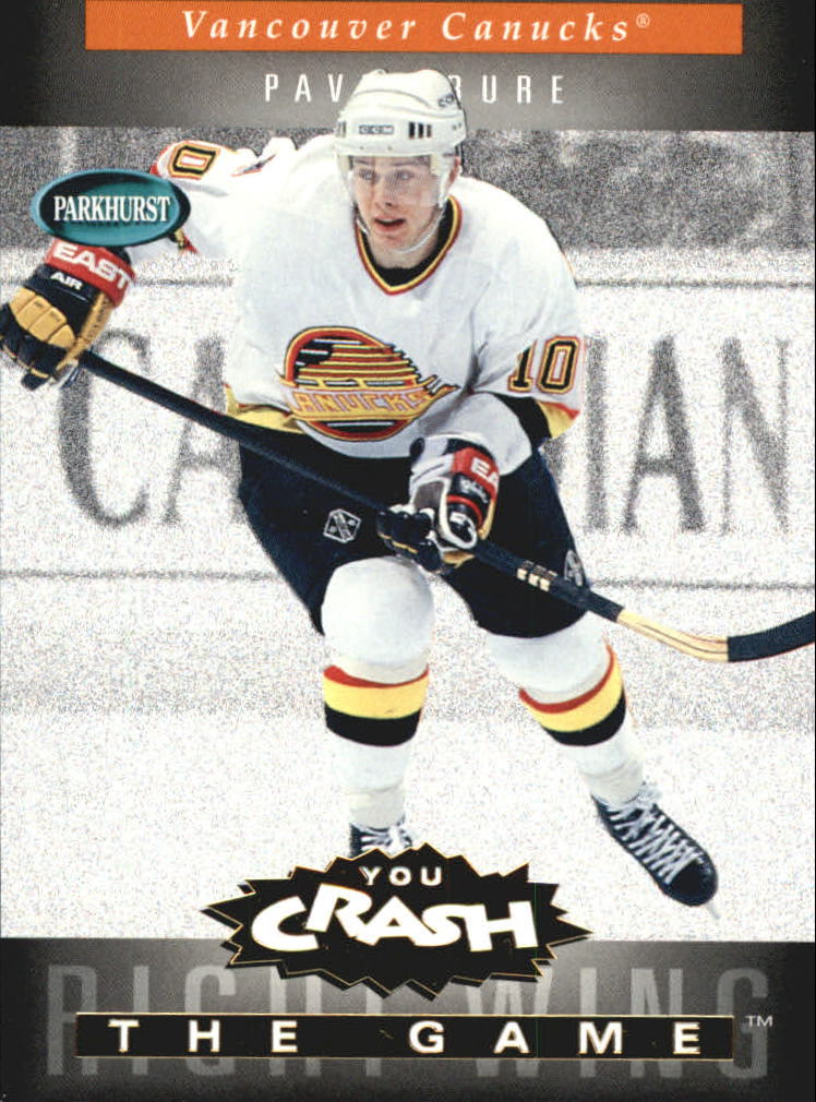 1994-95 Parkhurst Crash the Game Gold #24 Pavel Bure