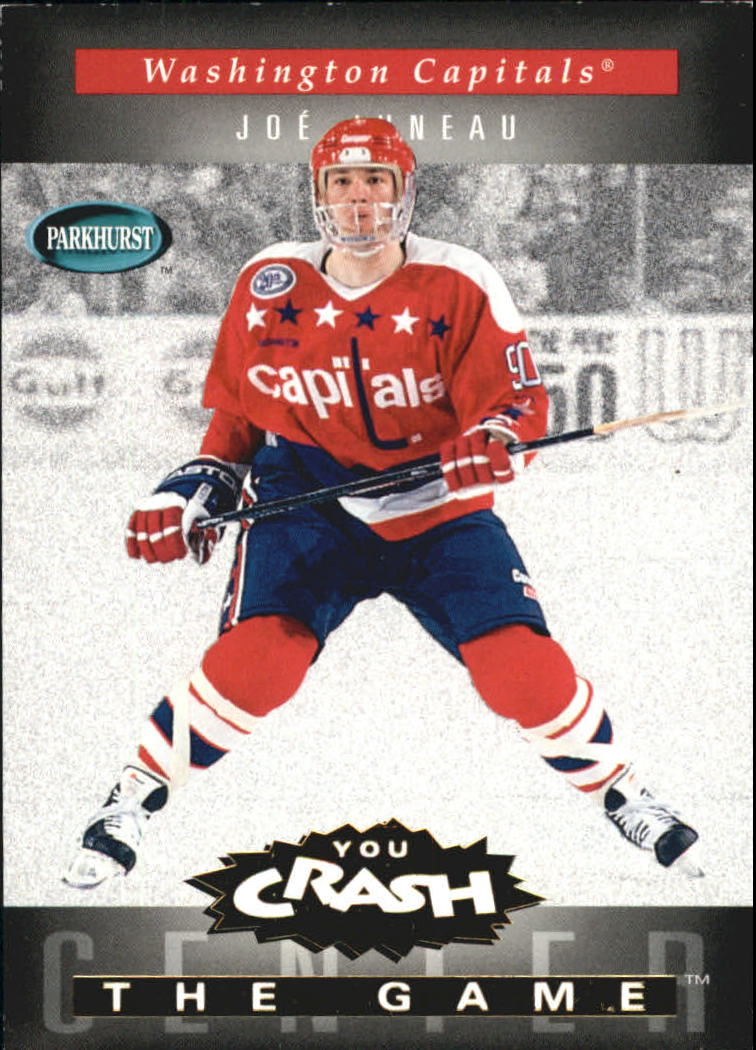 1994-95 Parkhurst Crash the Game Gold #25 Joe Juneau