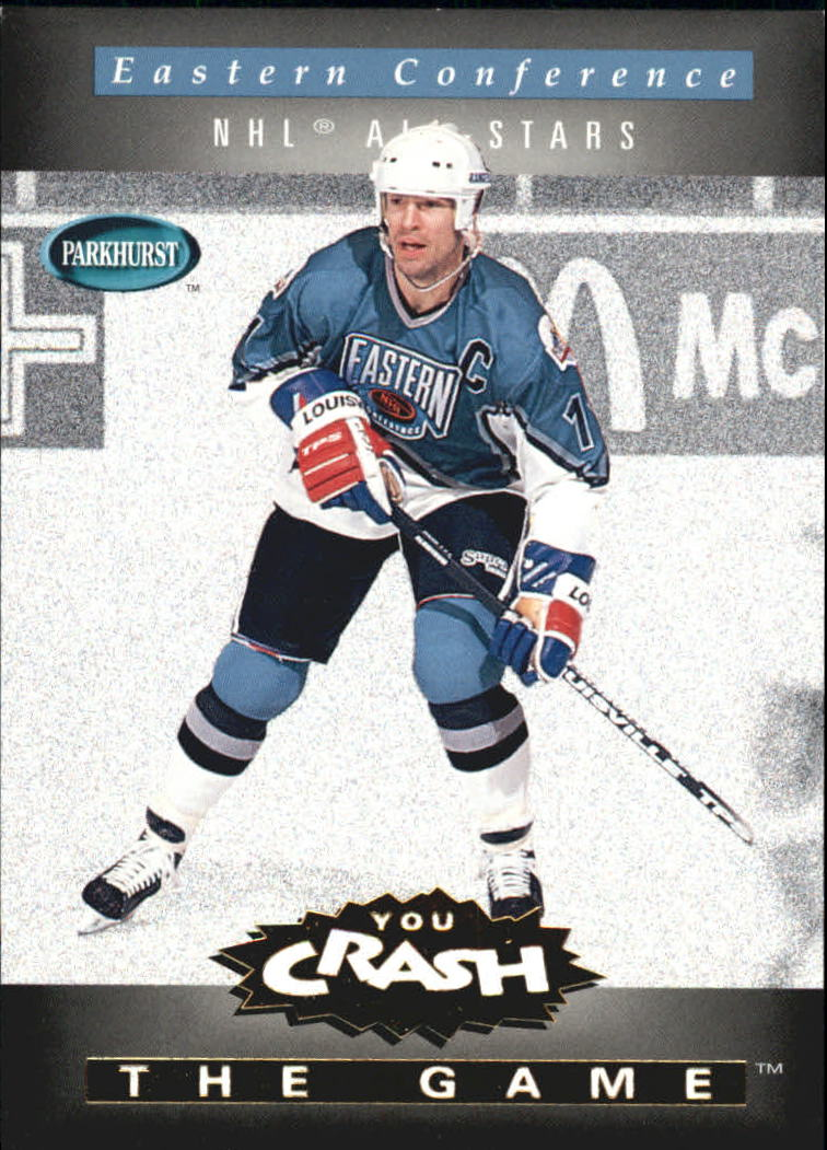 1994-95 Parkhurst Crash the Game Gold #27 Mark Messier/Eastern Conference
