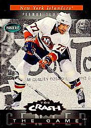 1994-95 Parkhurst Crash the Game Red #C14 Pierre Turgeon