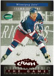 1994-95 Parkhurst Crash the Game Red #C26 Teemu Selanne