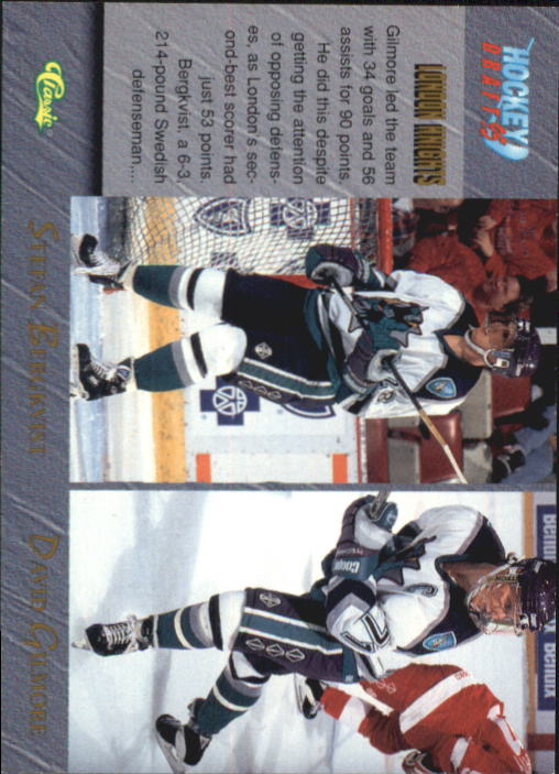 1995 Classic #88 London Knights