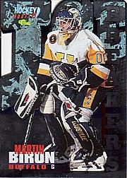 1995 Classic Ice Breakers Die Cuts #BK13 Martin Biron
